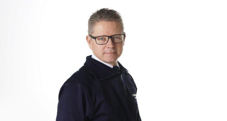 Porträtt av Ulf Lago, förbundsdirektör.